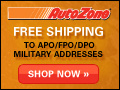 Free Shipping- To APO/FPO/DPO Military Addresses