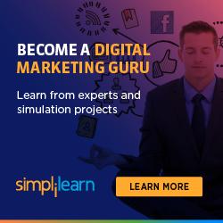 250x250 Digital Marketing Certified Associate - Learn from Experts