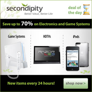 Secondipity.com Gaming Systems