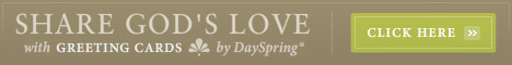 Share God's Love with Greeting Cards by DaySpring