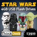 Star Wars 4 GB USB Flash Drive