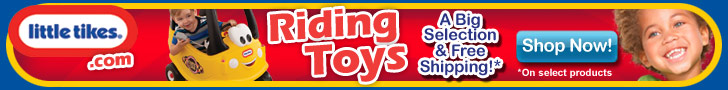Big Selection of Riding Toys at LitttleTikes.com!