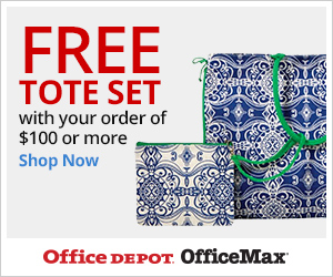 Free Tote Bag Set with your order of $100 or more! Use Code: TOTEODOMX52