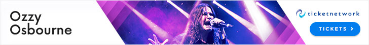 Shop for Ozzy Osbourne Tickets here