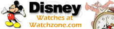 Disney Watches at Watchzone.com