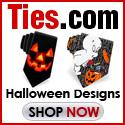 funky halloween ties