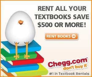 Rent Textbooks - Chegg
