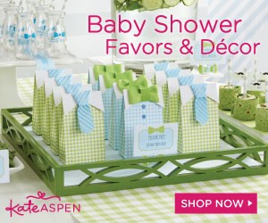 Shop Baby Shower Favors & Decor by Kate Aspen