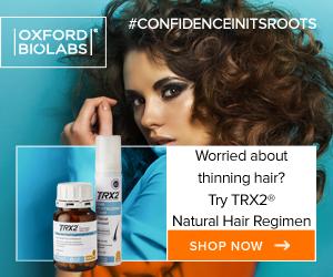 Address hair loss with TRX2 capsules and revitalising foam molecular hair regimen