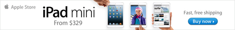 iPad mini. Every inch an iPad. From $329.