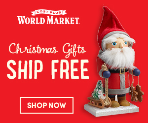 Free Shipping on Christmas Gifts