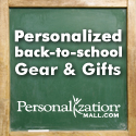 Personalized Back to School Gifts from PersonalizationMall.com