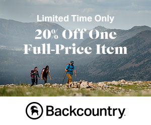 Take 20% Off One Full-Price Item With Code: TAKEOFF20 at Backcountry.com
