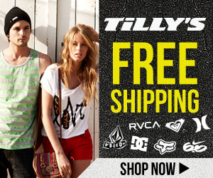 Shipping - Tilly's $5 Ship Green