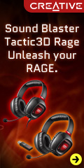 Sound Blaster Tactic3D Rage Headsets