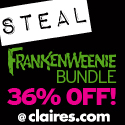 STEAL of the Week: Frankenweenie Bundle @ Claire's!