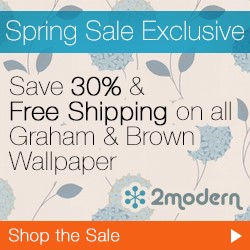 30% Off Graham & Brown Wallpaper!