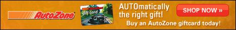 Buy an AutoZone giftcard!
