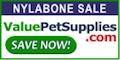 Nylabones at ValuePetSupplies.com!