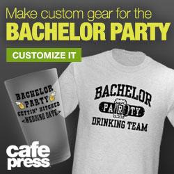 Cafepress Personalized Bachelorette T-Shirt