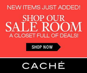 Cache Winter Sale - 25% off Clearance Styles