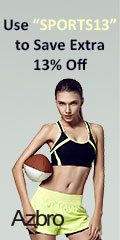 """Use """"SPORTS13"""" to Save Extra 13% Off"""