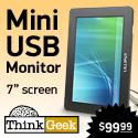 Lilliput Mini USB Computer Monitor