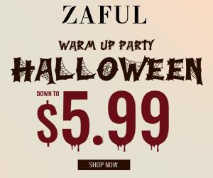 Zaful 2019 Halloween Warming-up
