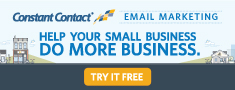 Constant Contact                                                     Try it Free - keeps                                                     you in touch with                                                     your site visitors