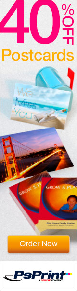 15% OFF Postcards