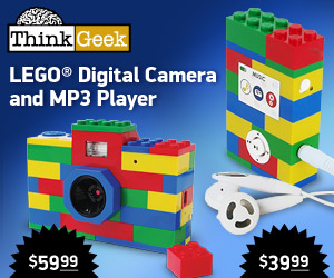 Lego MP3 Player and Digital Camera