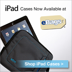 iPad cases at eBags