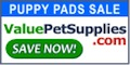 Puppy Pads Sale at ValuePetSupplies.com!