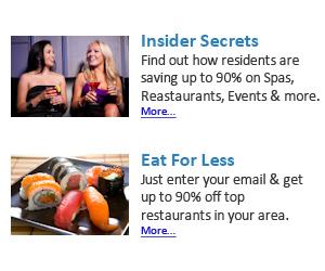 Insider Secrets & Eat for Less News bullet 300x250