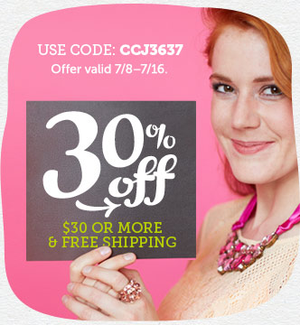 Celebrate Good Times! 30% off $30 or More & Free Shipping at Cardstore! Use Code: CCJ3637, Valid thr