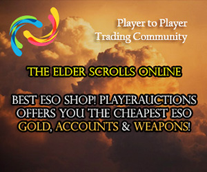 Cheapest Elder Scrolls Online Gold, Items, Accounts