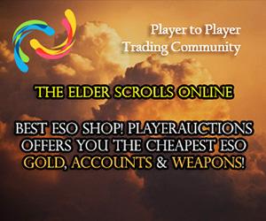 Elder Scrolls Online Gold, Items, Accounts