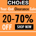 Year-End Clearance Sale at CHOIES