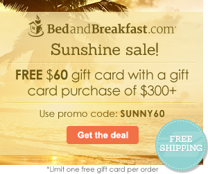FREE $60 gift card! Use promo code: SUNNY60