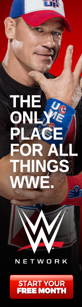 WWE Network Cena 160x600