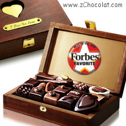 Luxury French chocolates