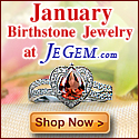 Check out January Birthstone Jewelry at JeGem.com!