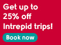25% off Intrepid Travel trips