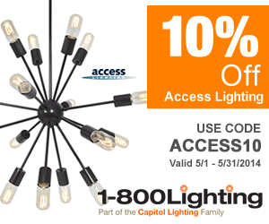Take 10% Off All Access Lighting with code ACCESS10 + Free Shipping over $49 at 1800lighting.com! Of