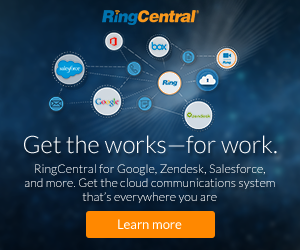 RingCentral for Google, Zendesk, Salesforce and more. 30-Day Free Trial!