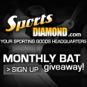 Sportsdiamond.com Monthly Bat Giveaway Drawing!