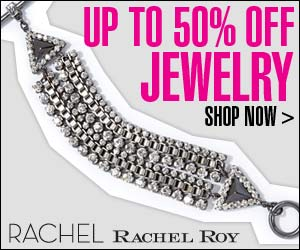 Enjoy up to 50% off Jewelry at Rachel Roy!