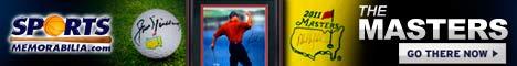 Shop Golf Memorabilia at SportsMemorabilia.com
