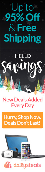 Daily Steals Free Shipping!