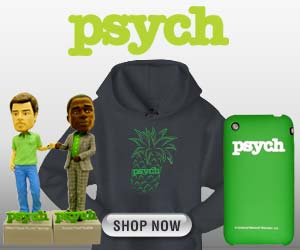 Psych T-Shirts & Gear at the NBC Store